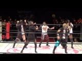 Hiromi Mimura, Konami, Jungle Kyona &amp Natsuko Tora vs. Oedo Tai (Hana Kimura, Kagetsu, Kris Wolf &amp Natsu Sumire)
