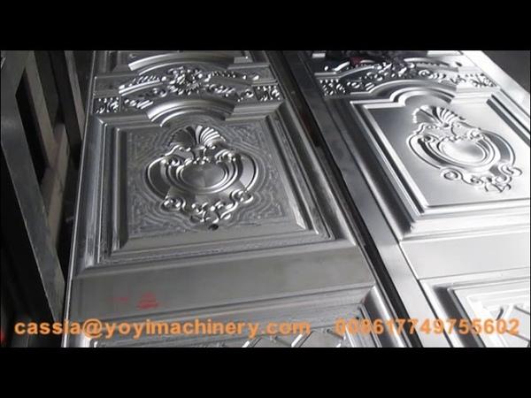 Ghana door embossing mold door pressing mold