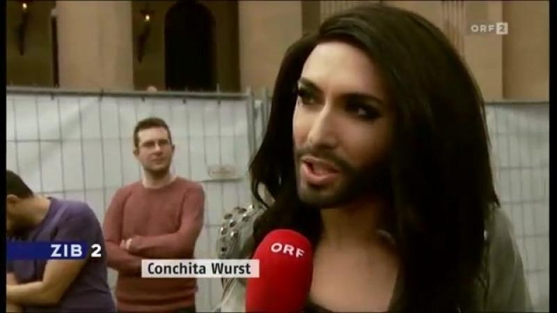 TV - 5_05_14 - ORF2 (Austria) - ZiB2(News) - ESC - Conchita Wurst