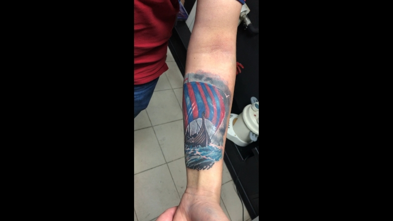 Asgard Tattoo (29.09.2018) драккар
