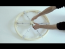 Складное колесо от изобретателя Andrea Mocellin