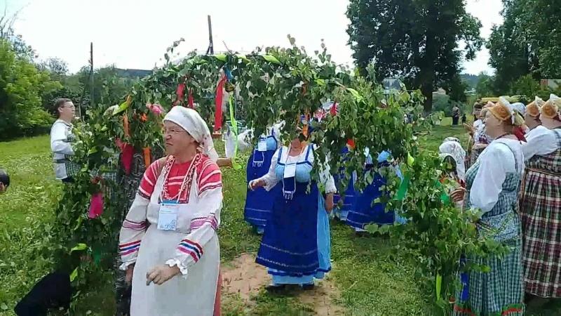 Встреча участников фестиваля в селе Люк