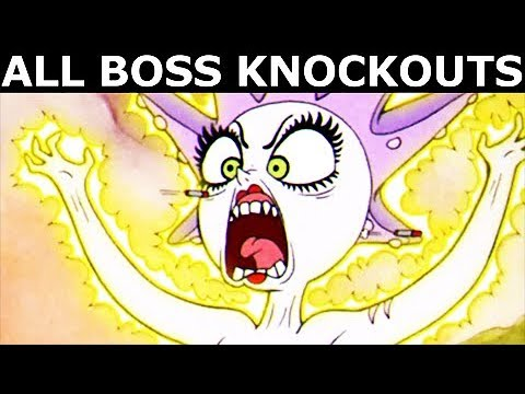 Cuphead - All Boss Knockouts