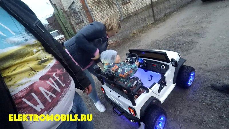 Jeep A004AA электромобиль для детей