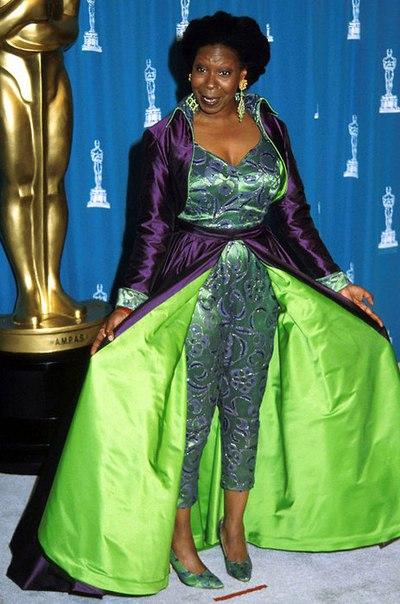 Худшие звездные наряды за всю историю премии «Оскар», часть 1