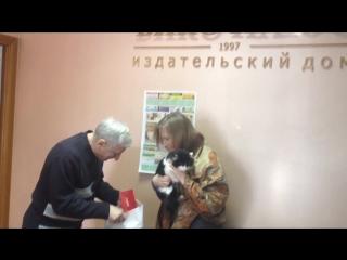 2 место - музейная кошечка Ефросинья, Румянцева Надежда (конкурс