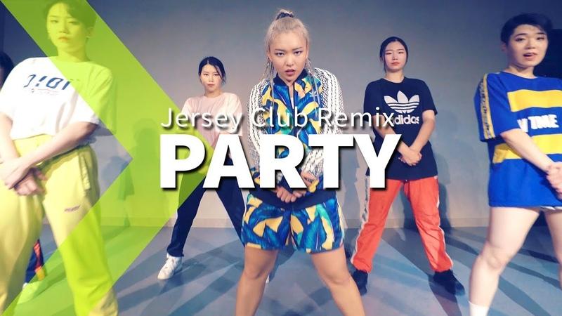 Chris Brown - Party (Jersey Club Remix) LIGI Choreography.