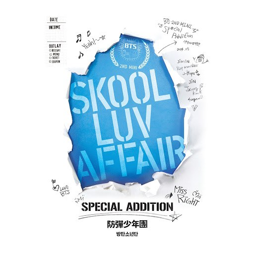Альбом BTS Skool Luv Affair (Special Edition)