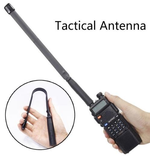 Мощная антенна для рации увеличивает дальность сигнала
