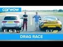 Mercedes-AMG E63 S vs GT R - DRAG RACE, ROLLING RACE BRAKE TEST | Mat vs Shmee pt 2/4