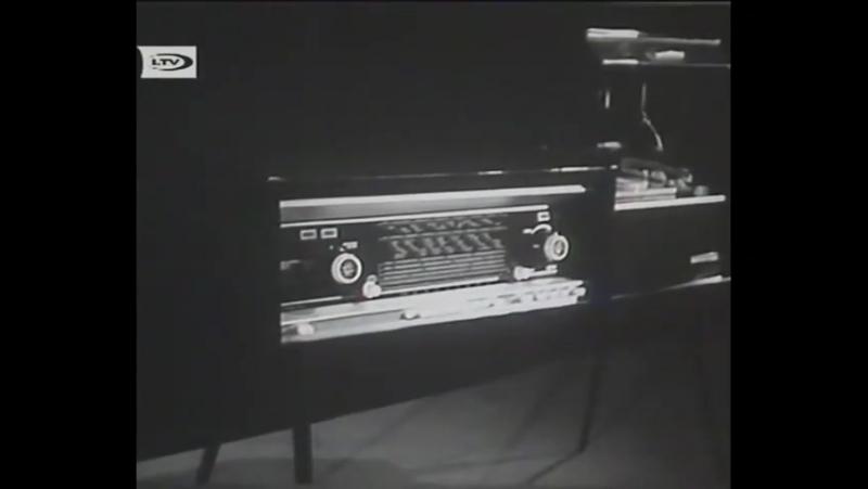 Instr.skaņdarbs (VIDEO FRAGMENTS) - Raimonda Paula trio (1964)