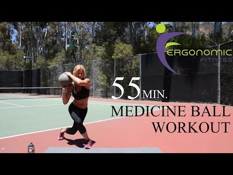 55 MINUTE MEDICINE BALL WORKOUT