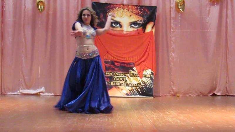 ШВТ Bahira El Assal Валерия Борисенко Oriental song. Отчётный концерт Школы 2018