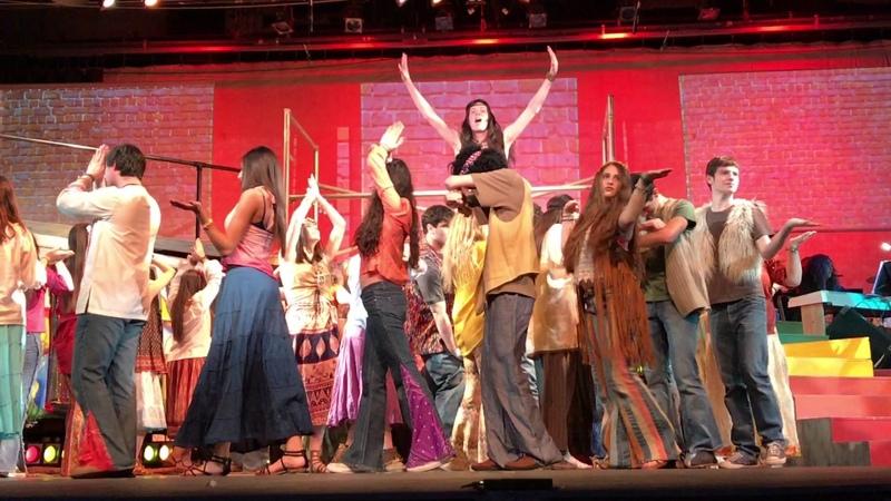 DonnaHashish - HairThe American Tribal Love Rock Musical-SHS Theatre Arts - 3.18.17