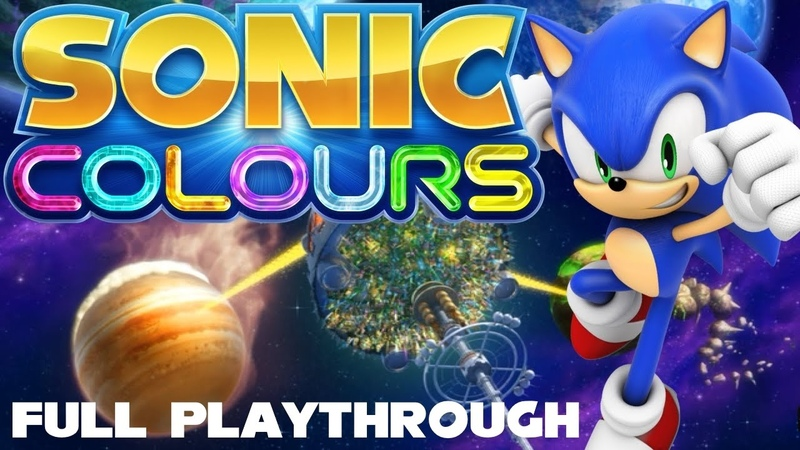 Sonic Colours - Full Playthrough [HD][Dolphin]