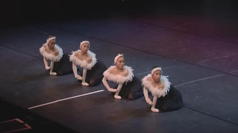 Отвлекитесь от давно знакомого танца и оцените японскую интерпретацию этого балета. Очень нестандартно японские балерины подошли