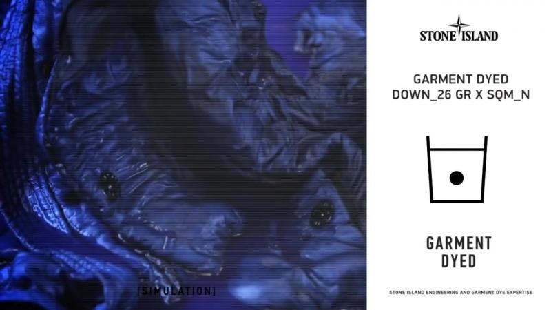 5515 - GARMENT DYED DOWN_26GR X SQM_N - AW '011 - '012