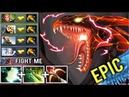 EPIC SHIT MACHINE GUN Jakiro vs All BKB Team New Meta Crazy Gameplay WTF Butterfly Build Dota 2