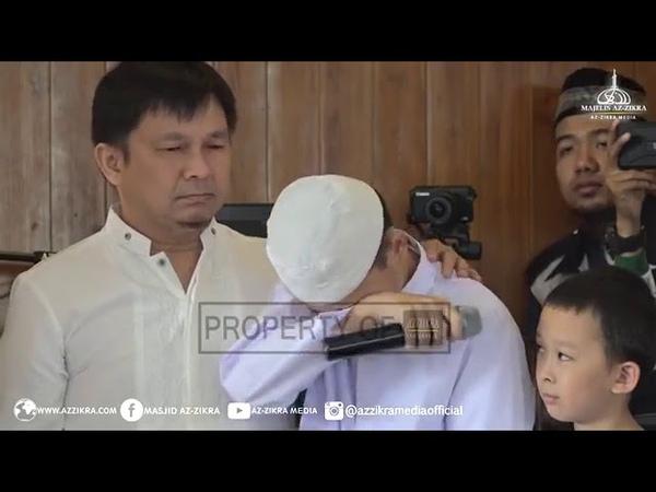 Ustadz Arifin Ilham - Jamaah Menangis Mendengar Suara Anak MUALLAF Mengaji