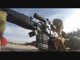 Соревнования среди снайперов и снайперских пар на Кубок командующего войсками Западного округа