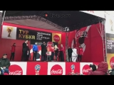 Кубок Чемпионата Мира по футболу приехал во Владивосток - Live