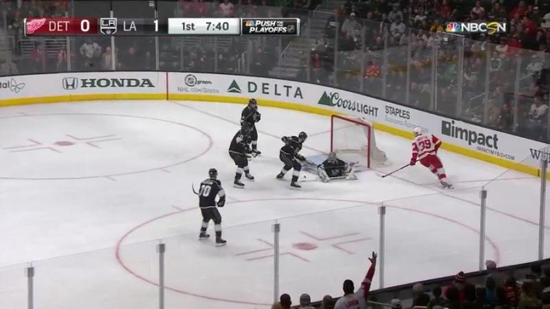 НХЛ. Великолепный двойной сэйв Джонатана Куика (16.03.18)