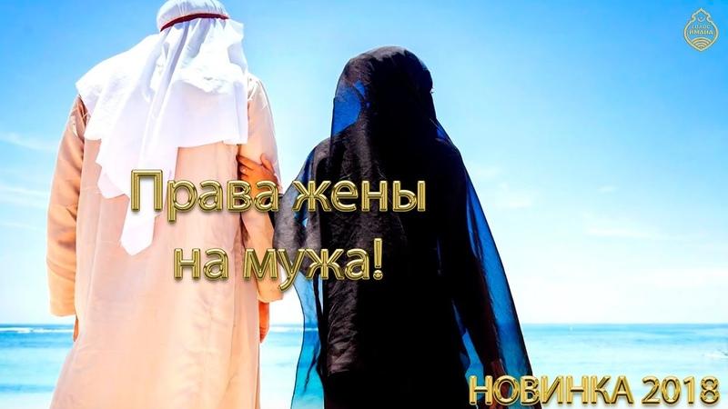 Права жены на мужа! [НОВИНКА ]