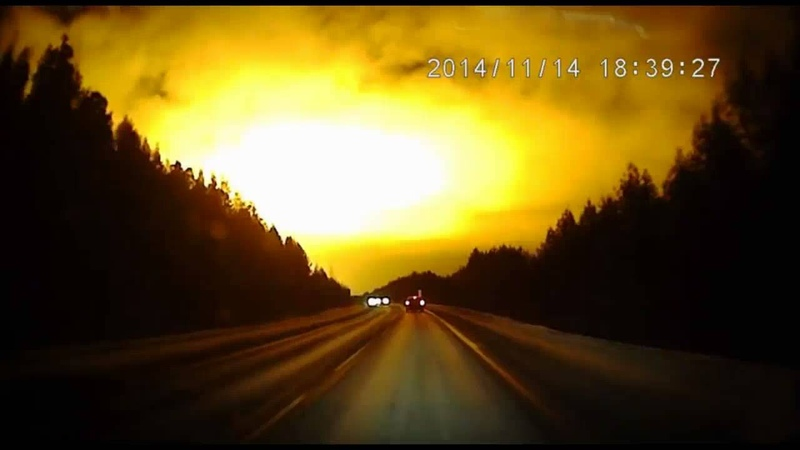 WOW! Massive Mystery Flash Turns Night Into Day In Russia!