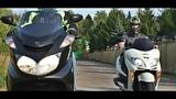 Yamaha Majesty 400 vs Honda Forza 250 обзор макси скутеров