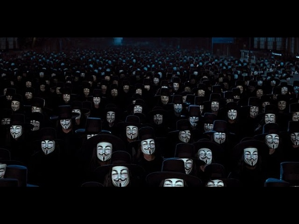 V For Vendetta Music Video (Tchaikovsky - 1812 Overture)