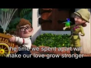 I Wanna Grow Old With You (Westlife Lyrics) - UP Movie Version