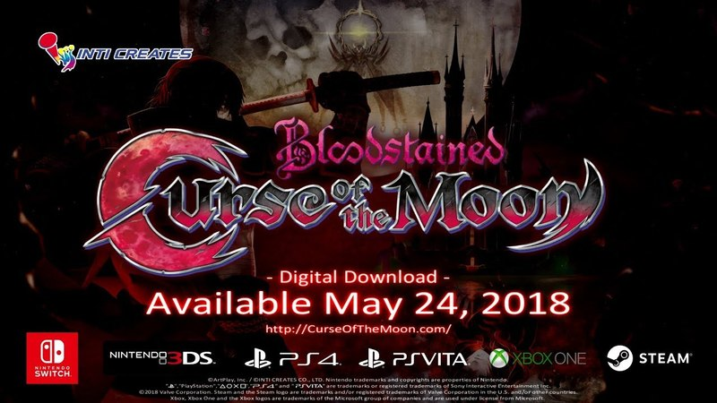 Bloodstained Curse of the Moon Official Trailer