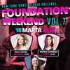 FOUNDATION WEEKEND    18 МАРТА    NYDS