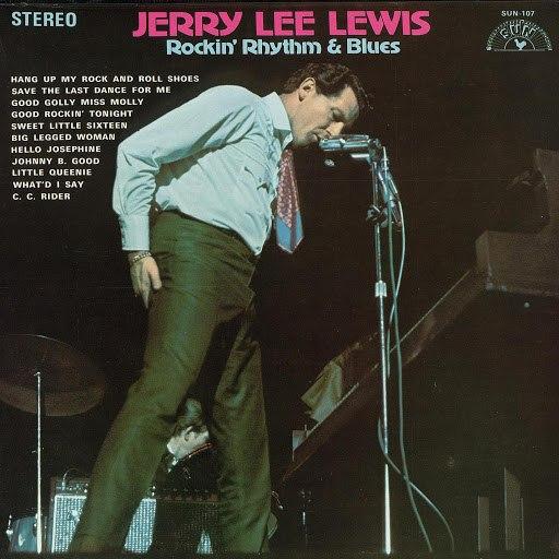 Jerry Lee Lewis альбом Rockin' Rhythm & Blues