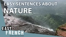 Easy sentences about nature | Super Easy French 50