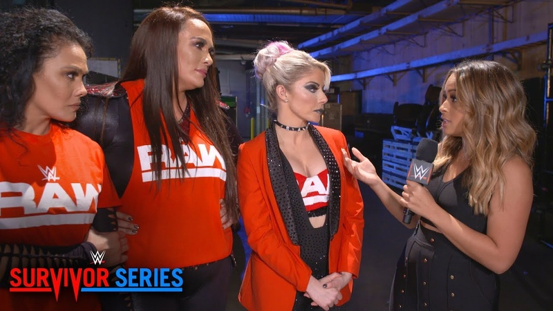 Video@alexablissdaily   Raw women unfazed by crowd reaction, team distractions: WWE Exclusive, Nov. 18, 2018
