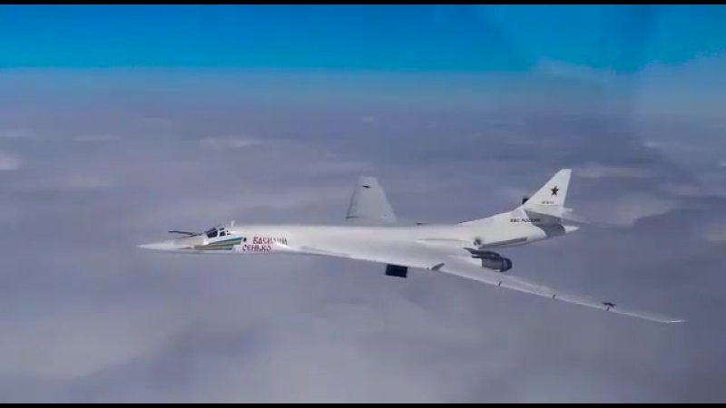Самый красивый самолет в мире - Ту-160, «Белый Лебедь»...