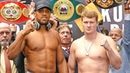 Anthony Joshua vs. Alexander Povetkin FULL WEIGH IN FINAL FACE OFF | Matchroom Boxing