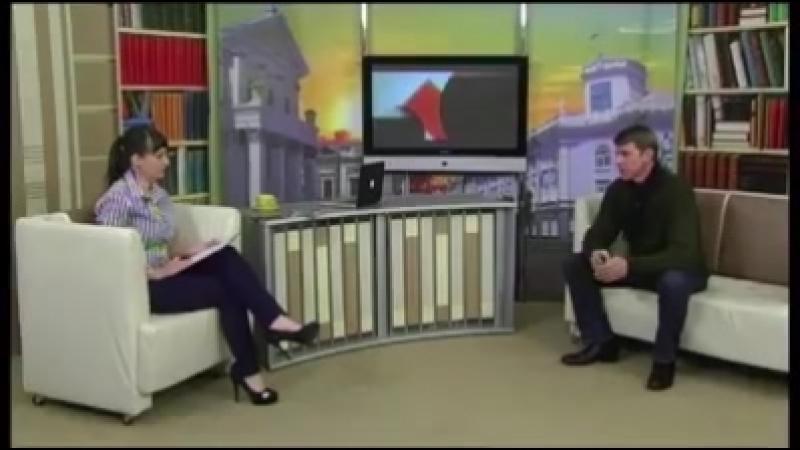 Минулого тижня наше місто відвідав заслужений артист України Альберт Салтыков і ведуча ранкового шоу Ранок на каналі Житомир