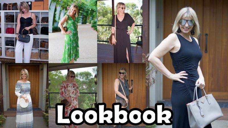 Lookbook -- week of outfits
