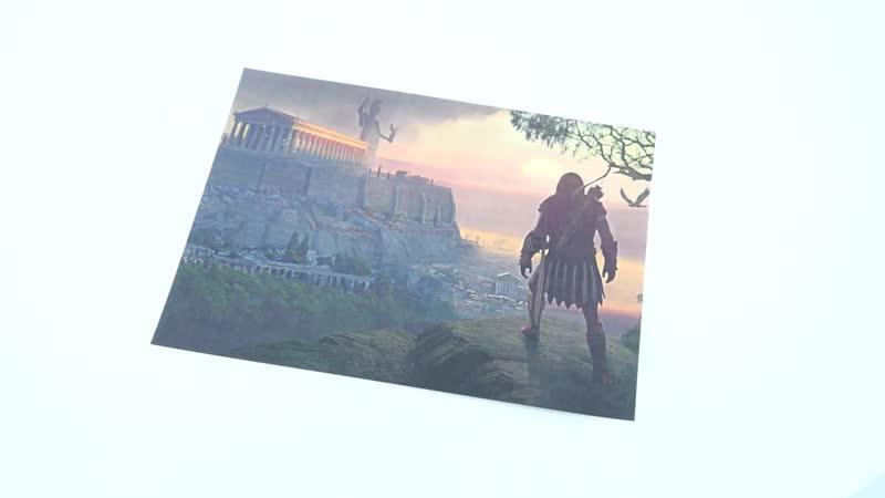 РАСПАКОВКА_ Assassin's Creed Odyssey Pantheon Edition