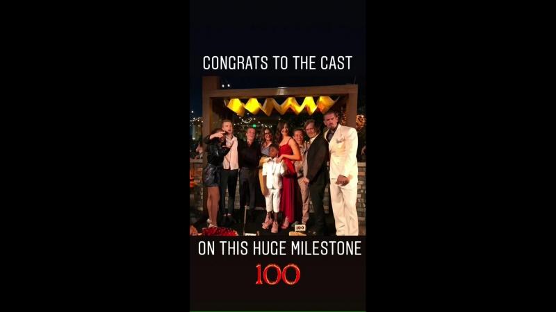 Вечеринка в честь 100-го эпизода телесериала «Бесстыдники» в Лос-Анджелесе, США | 9 июня 2018
