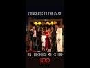 Вечеринка в честь 100 го эпизода телесериала Бесстыдники в Лос Анджелесе США 9 июня 2018