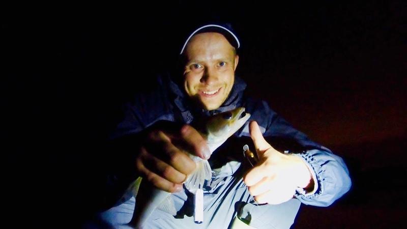 Рыбалка, судак на воблер с AliExpress MR Charles