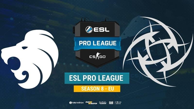 North vs NiP ESL Pro League S8 EU bo1 de train CrystalMay Smile