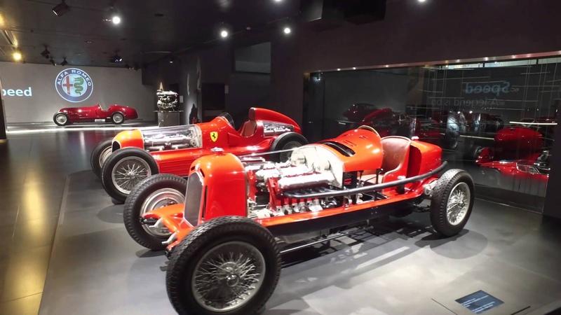 Alfa Romeo Museum Arese February 2016