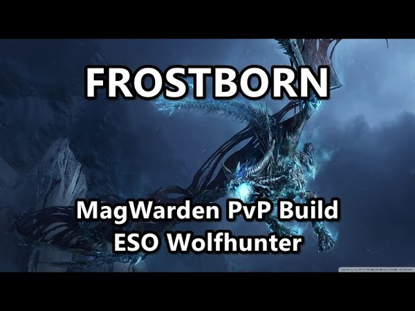 FROSTBORN | MagWarden PvP Build | ESO Wolfhunter
