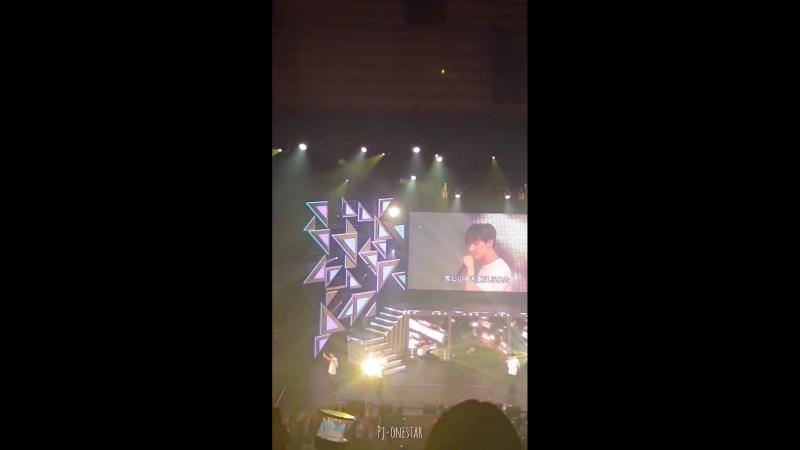 VK 180517 MONSTA X fancam Gfyl @ Japan 1st Live Tour 2018 Piece in Tokyo D 1