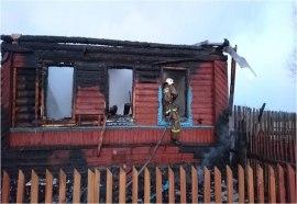 В селижаровской деревне Мосягино подожгли дом