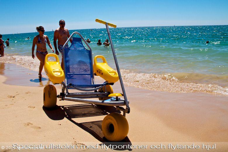 кресло-коляска на пляж